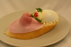 vajíčkový chlebíček