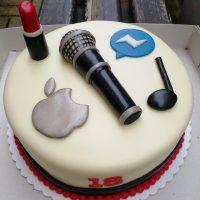 hudba, rtěnka, apple